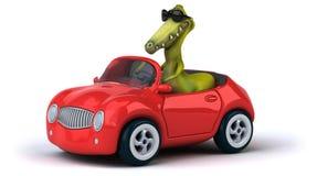 Fun dinosaur Stock Image