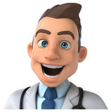 Fun doctor Stock Photography