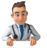 Fun doctor Royalty Free Stock Image