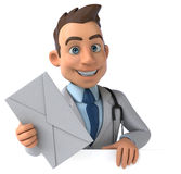 Fun doctor Royalty Free Stock Photography