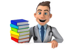 Fun doctor Stock Image