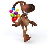 Fun dog Royalty Free Stock Image