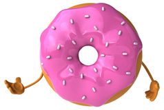 Fun donut Stock Photography