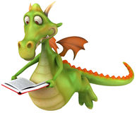 Fun dragon Stock Image