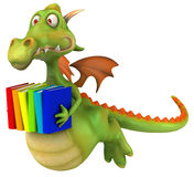 Fun dragon. 3d generated picture Stock Photos