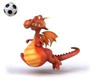 Fun dragon Stock Photos