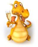 Fun dragon Royalty Free Stock Photos