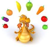 Fun dragon Royalty Free Stock Photo