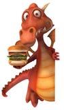 Fun dragon Stock Images