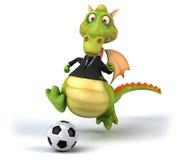 Fun dragon Royalty Free Stock Image