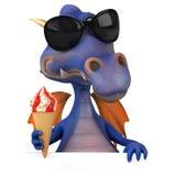 Fun dragon Stock Image