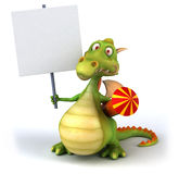 Fun dragon Stock Images
