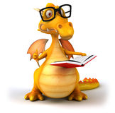 Fun dragon Stock Photography