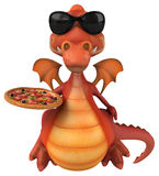 Fun dragon Royalty Free Stock Photography