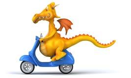 Fun dragon Stock Photo