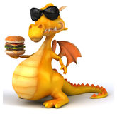Fun dragon Royalty Free Stock Images