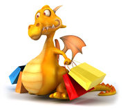 Fun dragon Stock Photos