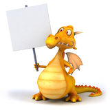 Fun dragon. 3d generated picture Stock Photo