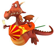 Fun dragon Royalty Free Stock Photos