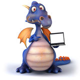 Fun dragon Royalty Free Stock Image
