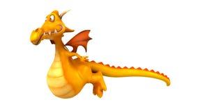 Fun dragon stock video