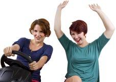 Fun Driving Stock Photo