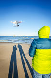 Fun with drone Royalty Free Stock Images