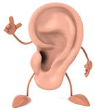 Fun ear Royalty Free Stock Photography