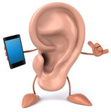 Fun ear Royalty Free Stock Photo