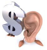 Fun ear Stock Image