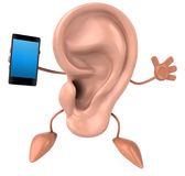 Fun ear Stock Photo