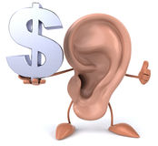 Fun ear Royalty Free Stock Photos
