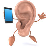Fun ear Royalty Free Stock Images