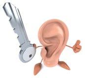 Fun ear Royalty Free Stock Photo