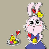 Fun Easter Love Royalty Free Stock Images