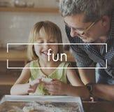 Fun Enjoyment Activity Hobbies Concept stock image