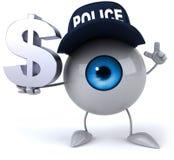 Fun eye Royalty Free Stock Images