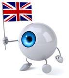 Fun eye Stock Image
