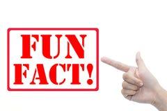 Fun fact Stock Images