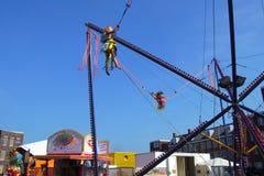 Fun Fair Almere Poort - Kermis Stock Image