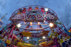 Fun Fair Carnival Luna Park panoramic wheel Royalty Free Stock Photo