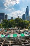 Fun fair in Central Park, New York Royalty Free Stock Photo
