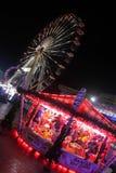Fun Fair Giant Wheel Stock Photo