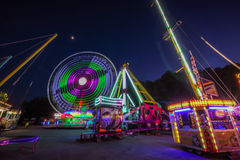 Fun Fair Ground in Brno, Czech Republic Stock Photography