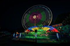Fun Fair Ground in Brno, Czech Republic Royalty Free Stock Photos