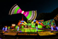 Fun Fair Ground in Brno, Czech Republic Royalty Free Stock Photography