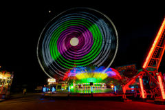 Fun Fair Ground in Brno, Czech Republic Stock Photos