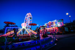 Fun Fair Ground in Brno, Czech Republic Royalty Free Stock Photo