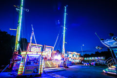 Fun Fair Ground in Brno, Czech Republic Stock Images