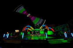 Fun Fair Ground in Brno, Czech Republic Stock Image